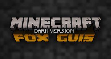 [Dark] Animated Fox Guis [1.16.X] [Optifine Required] [Vanilla Tweaks Addon] Minecraft Texture Pack