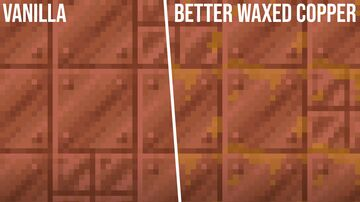 Better Waxed Copper Minecraft Texture Pack