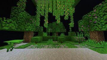 Green Lush Caves +bonus mossy cobblestone/bricks Minecraft Texture Pack