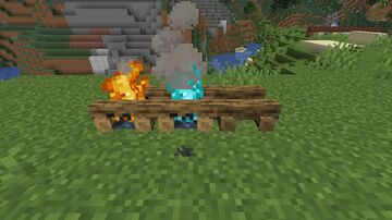 Biome-Dependent Campfire Logs (Optifine Required) Minecraft Texture Pack