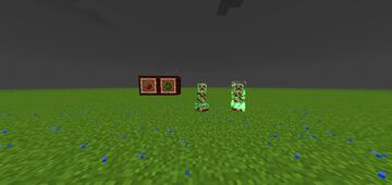 Bloody Creeper | Bedrock Edition Minecraft Texture Pack