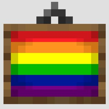 Pride Paintings Minecraft Texture Pack