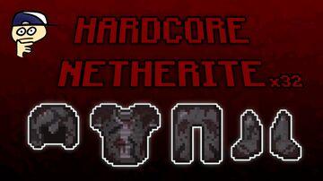 x32 FAITHFUL Hardcore Netherite Minecraft Texture Pack