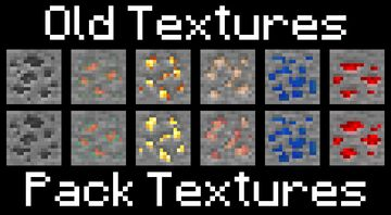 JollyWinter's Modified Ores Minecraft Texture Pack