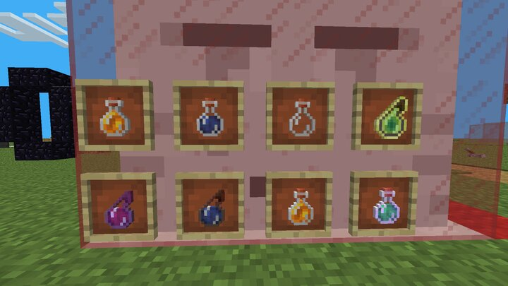 New Bottle Textures! no more square bottom outlines