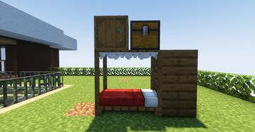 Beds with roof (Better beds) Minecraft Texture Pack