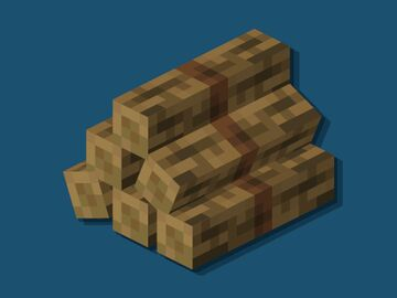 Log Piles Minecraft Texture Pack