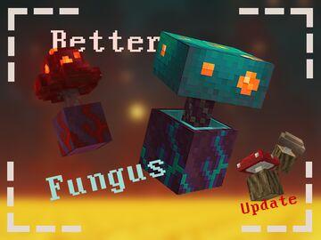 Better fungus Minecraft Texture Pack