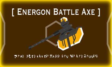 Energon Battle Axe Minecraft Texture Pack
