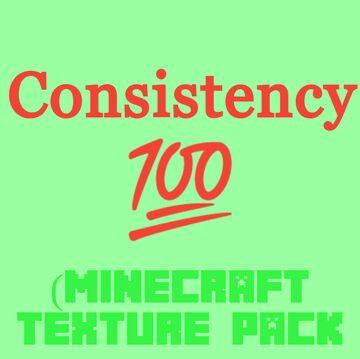 Consistency 100% - Java Minecraft Texture Pack