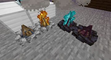 Rocky Campfires Minecraft Texture Pack