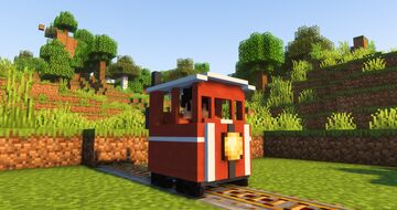 New and cute trains !! Minecraft Texture Pack