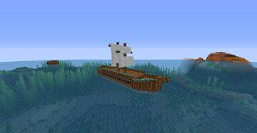 Alternative ship texture for Viking dataPack by HelloGaming Minecraft Texture Pack