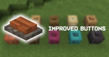 Improved Buttons! Minecraft Texture Pack