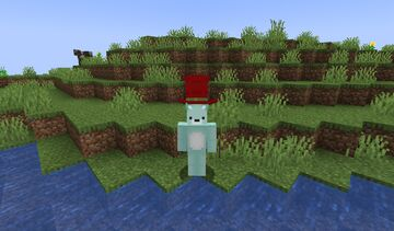 hermitcraft season 8 GoodTimesWithScar Hat Model Minecraft Texture Pack