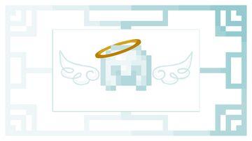 Angel Netherite - Door Minecraft Texture Pack