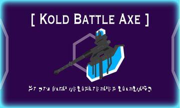 Kold Battle Axe Minecraft Texture Pack