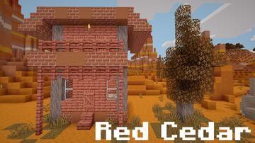Red Cedar Wood (Creative) Minecraft Texture Pack