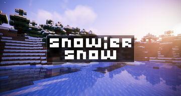 Snowier Snow [Optifine] Minecraft Texture Pack