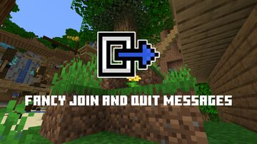 Fancy join and quit messages Minecraft Texture Pack