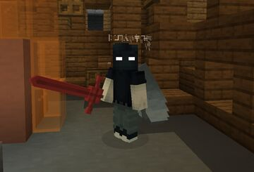 Demon Blood Sword (Adventure Time, Dads Dungeon) - Netherite Sword Texture Pack Minecraft Texture Pack
