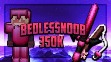 Bedlessnoob 350k Pack Minecraft Texture Pack