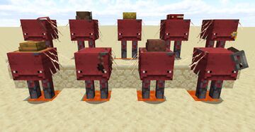 Striders with Hats [OptiFine] Minecraft Texture Pack