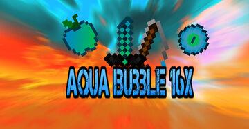 Aqua Bubble 16x Minecraft Texture Pack