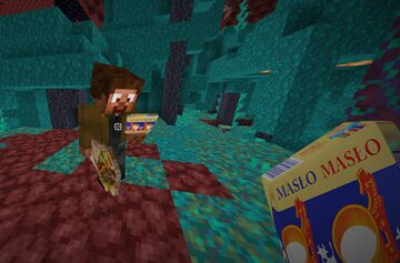Tidzimi lubi masło Minecraft Texture Pack