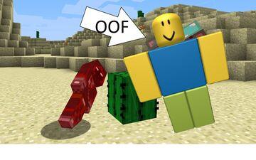 Damage sound to Roblox OOF sound Minecraft Texture Pack