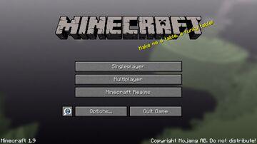 Update title screens: 1.9 Combat Update Minecraft Texture Pack
