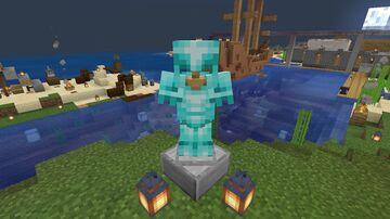 Diamond to Netherite style textures!!(Java Version) Minecraft Texture Pack