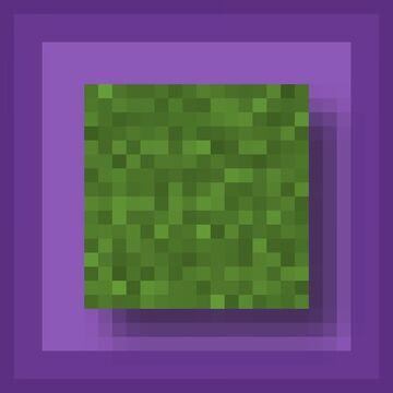 Moss to Turf - Bedrock Minecraft Texture Pack