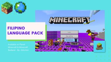 Filipino Language Pack (Beta) [Bedrock Edition] Minecraft Texture Pack