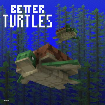 Better Turtles Minecraft Texture Pack