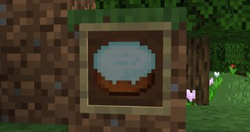 Mint cake frosting! Minecraft Texture Pack