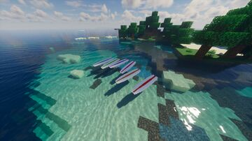 Mizt's Surfboards Minecraft Texture Pack