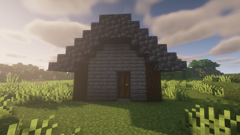 Petrified Oak house