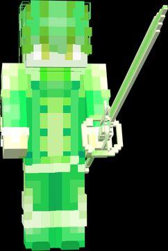 Spirit of Zephyr (Black Clover) Minecraft Texture Pack