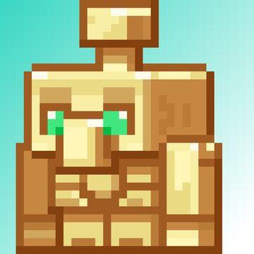 Copper Golem Totem Minecraft Texture Pack