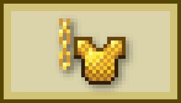 Drippy Gold Chains - Bedrock Minecraft Texture Pack