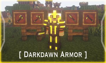 Darkdawn Armor (Weapons/Tools Update) Minecraft Texture Pack