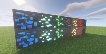 Goribby's 3D - Old Ores Minecraft Texture Pack