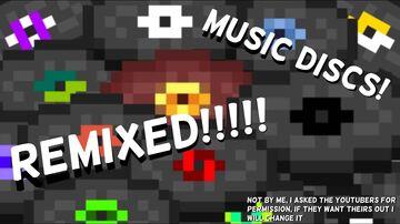 Music Discs Remixes! Minecraft Texture Pack