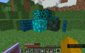 Blue/icy nether Minecraft Texture Pack