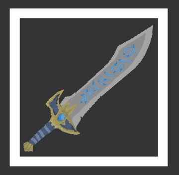 Custom 3D Sword Minecraft Texture Pack