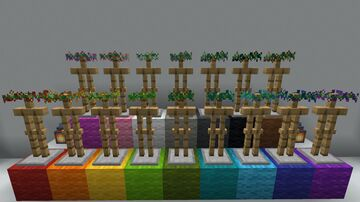 Dyeable Flower Crowns Minecraft Texture Pack