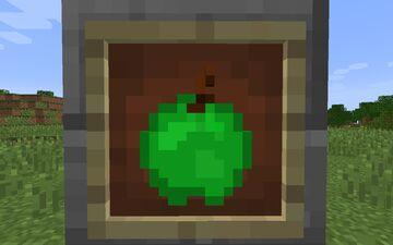 Green Apple Texture [1.8-1.15] Minecraft Texture Pack