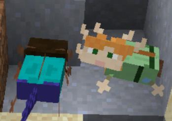 A(le)xolotl Minecraft Mob Skin