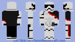 Star Wars: Captain Phasma Minecraft Skin